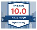 Avvo Top Ten Attorney